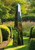 Stainless steel obelisks