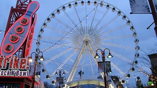 Clifton Hills Ferris Wheel - SkyWheel