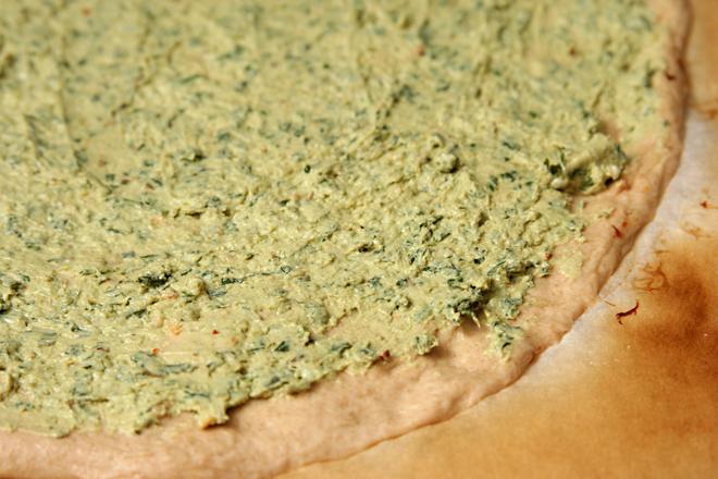prosciutto goat cheese pizza 2