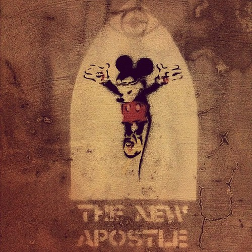 Mickey Mouse Jesus