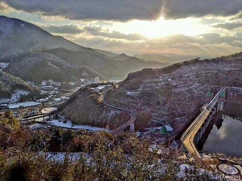 Narufuchi Dam (HDR image)