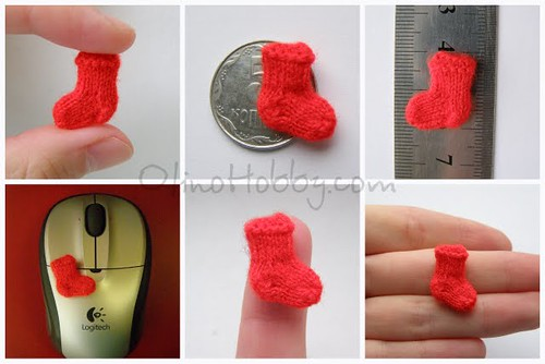 miniature sock