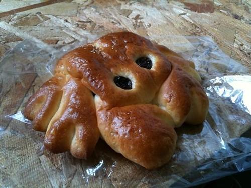 Crab bread!