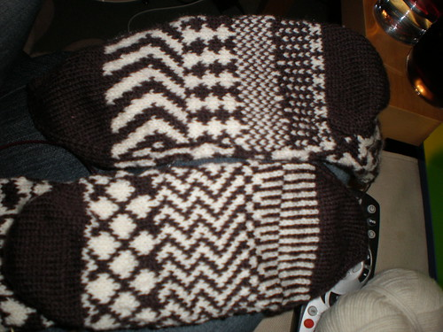 Fairisle Socks - Just the Soles