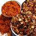 Chilivlokken en Chilipoeder