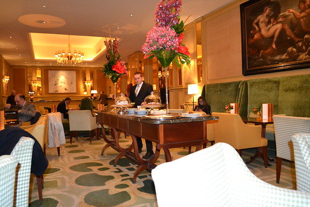 Hotel Principe di Savoia lounge