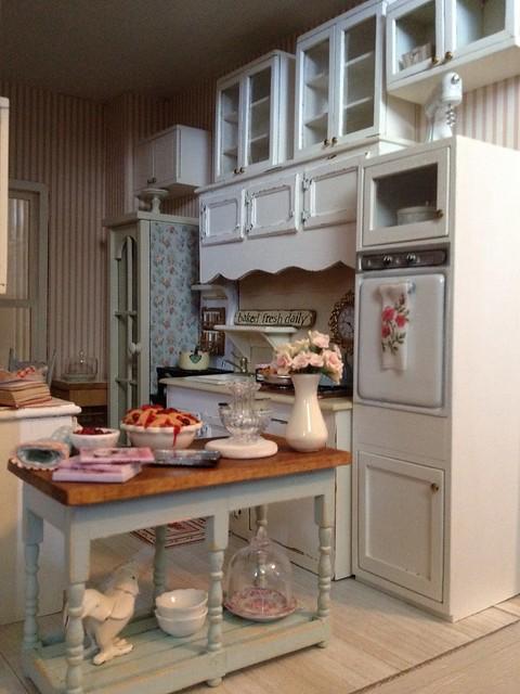 My dollhouse kitchen   Flickr - Photo Sharing!