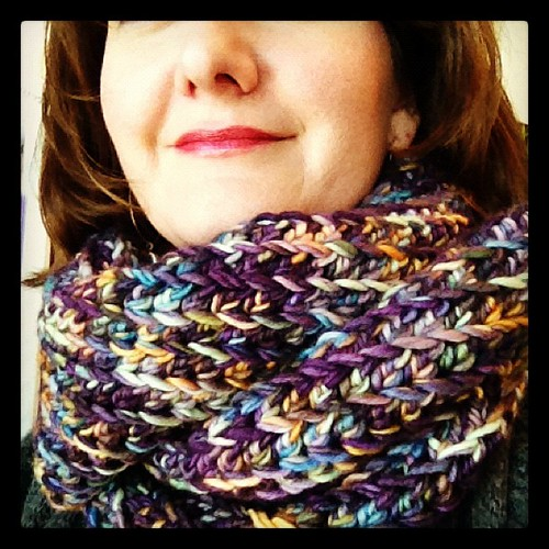 Finished my cowl last night!