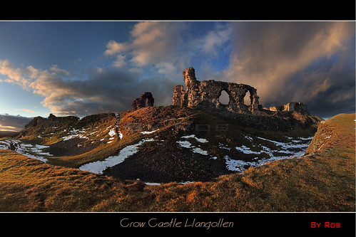 old winter light sunset snow storm cold castle beauty wales photoshop moody fort cymru ruin scenic stormy panoramic welsh stronghold llangollen photostitch dinasbran crowcastle supershot canon5dmark2 rememberthatmomentlevel1 rememberthatmomentlevel2 robstormphotography