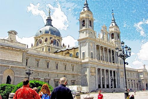 Vistas de Madrid: la Almudena