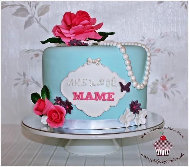 торт фото день рождения маме