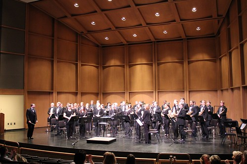 8:04 PM: Lander University Wind Ensemble Concert