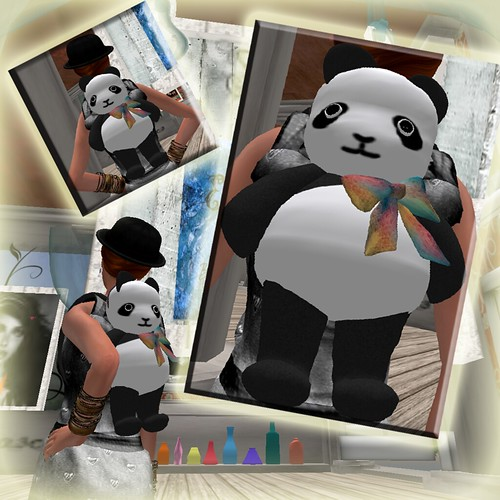 EED ~ Panda Backpack by ElaraGloriana Scrabblebat