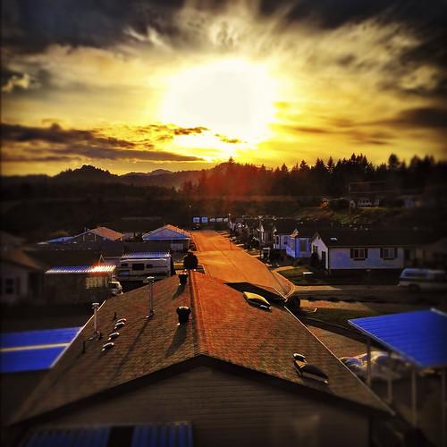 sunset nanaimo vancouverisland iphoneography