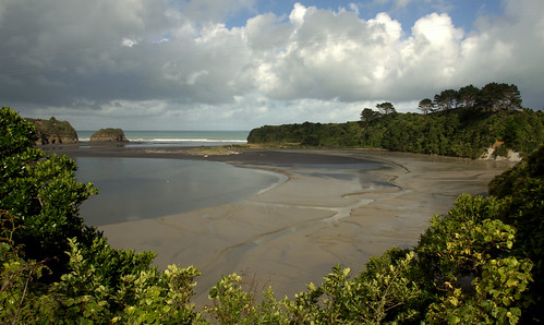 North Taranaki - Tongaporutu (Three (now Two) Sisters)