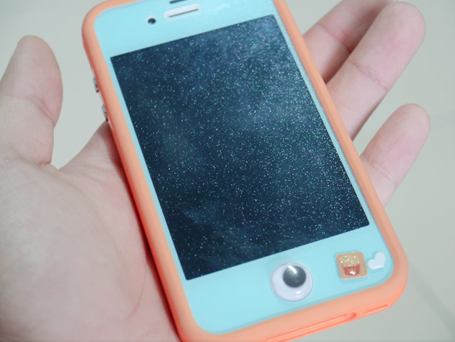 blue glitter screen protector typicalben