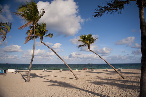 The Beautiful Beaches of fort Lauderdale.