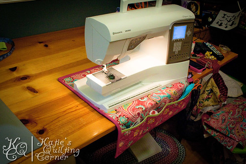 Free Sewing Machine Mat Tutorial | Katie\'s Quilting Corner
