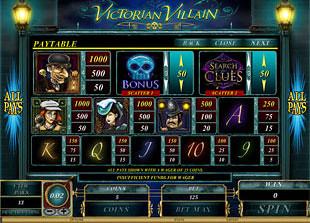 free Victorian Villain slot mini symbol