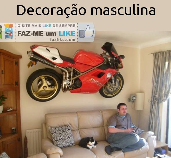 decoração masculina