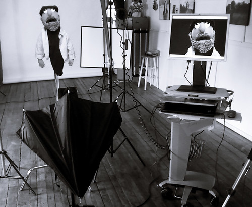 Mobile tethering station for Studio