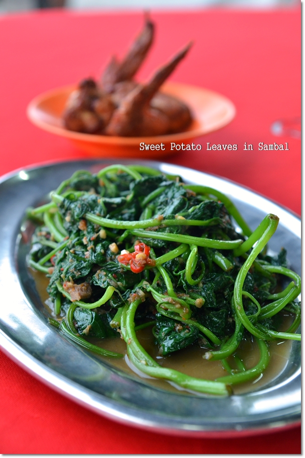 Sweet Potato Leaves Sambal