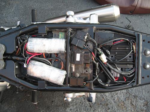 Cafe Racer Battery : Project bonneville cafe racer sorta