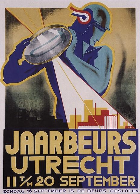 Henri C. Pieck. Utrecht's Fair. 1934