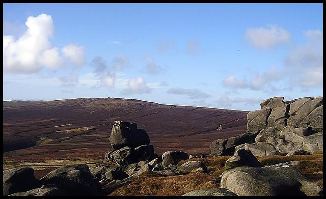 Grinah stones/Bleaklow.