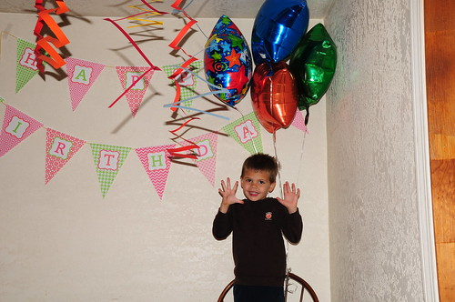 Qade's 5th Birthday