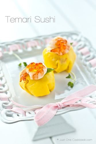 Temari Sushi for 6bittersweets