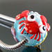 Charm bead : Red crab