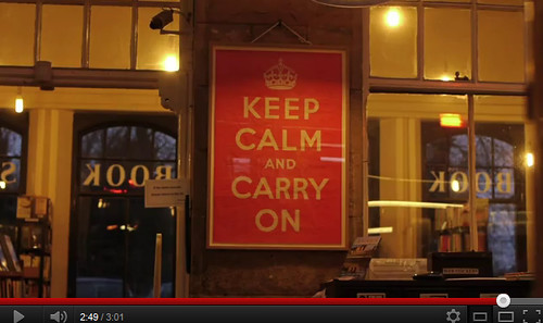 The Original Home of the Keep Calm & Carry in Poster -  Barter Books