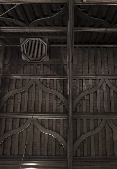 Lincoln's Inn - Old Hall ceilings