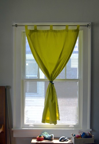 Angel's Nest: Dyeing Curtains with iDye