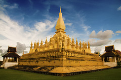 Templo Pha That Luang (Vientian, Laos)