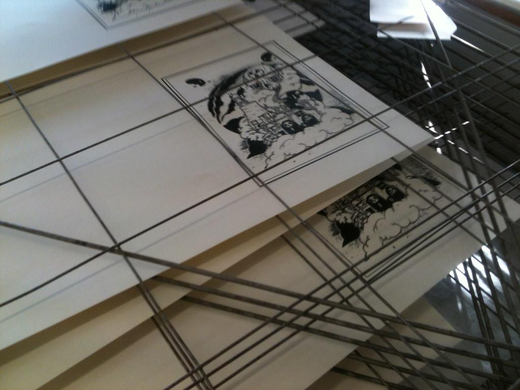 Screen printing!