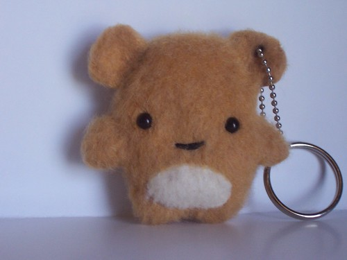 Hello its Winston - Super Kawaii Keychain by plushplex