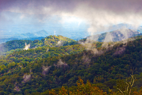 storm day northcarolina blueridgeparkway thunderhilloverlook