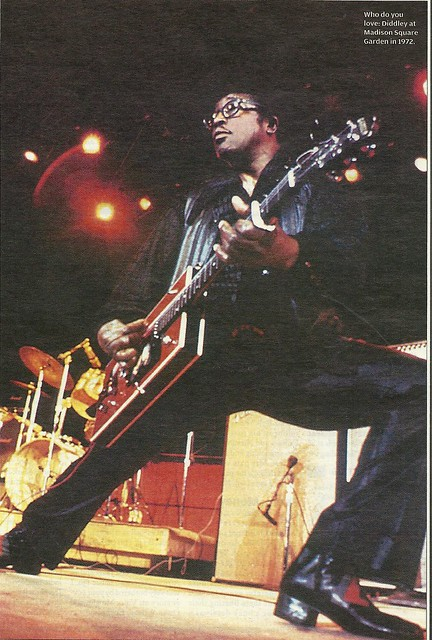 1972 Bo Diddley @ MSG, NYC, NY