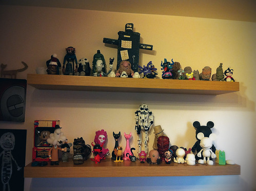 Cleaned out Toy Shelf x 2 by [rich]