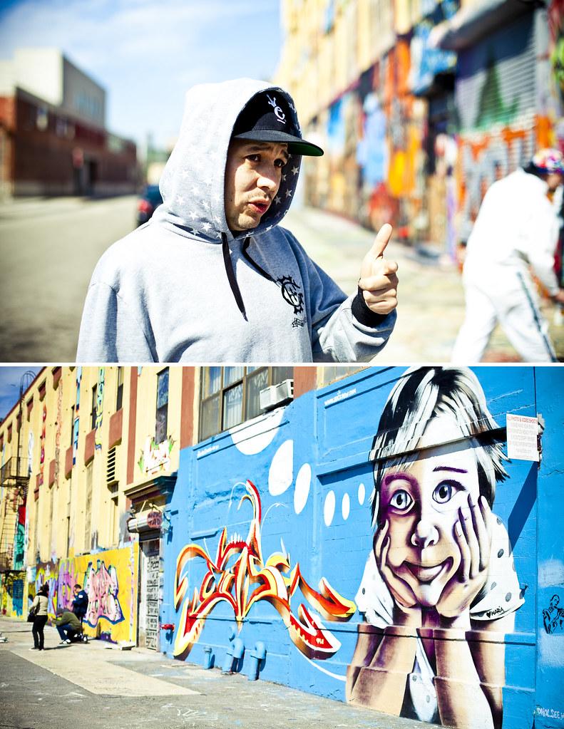 Street Artist Eli