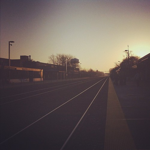 Train station in the morning by The Shutterbug Eye™