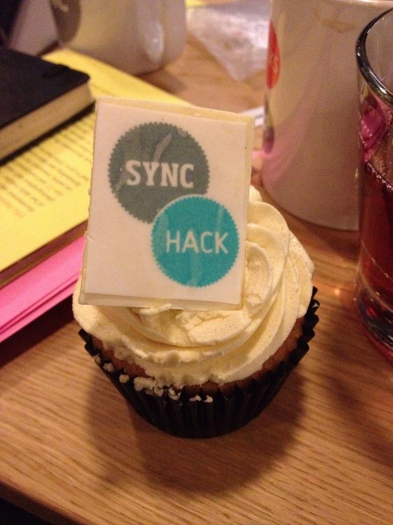 Culture Hack Scotland cup cake
