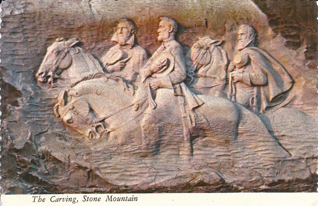 The carving stone mountain s postcard explore ed