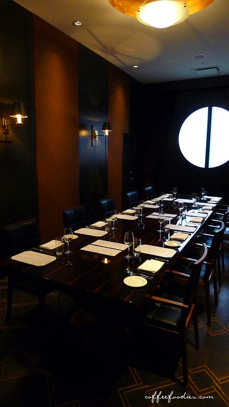 Tableau bar bistro vancouver private room birthday party for Best private dining rooms vancouver