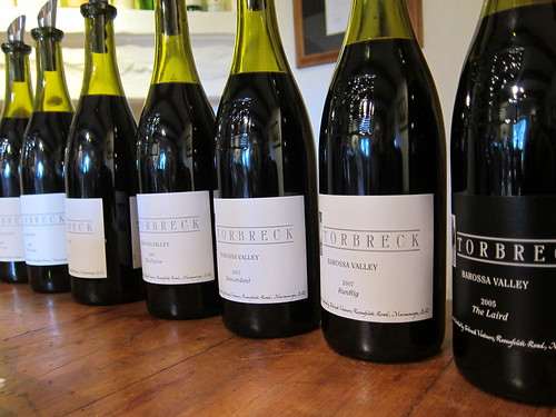 Killer Lineup of Torbreck Wines