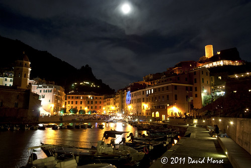 Vernazza By Night by David Morse