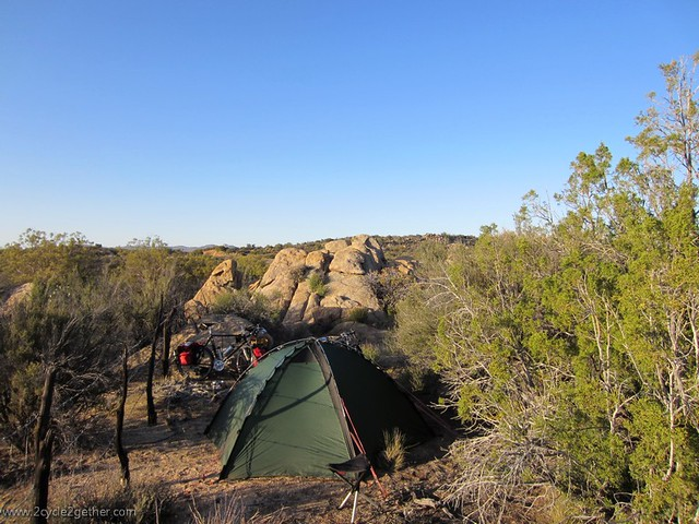 Wild Campsite, between Ojos Negros and San Felipe