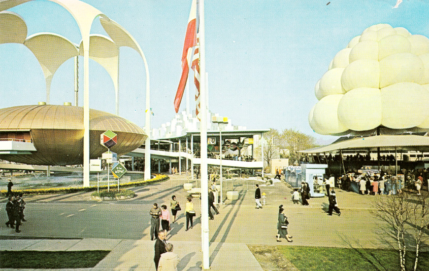New_York_Worlds_Fair_1964_Johnson's_Wax_Pavilion